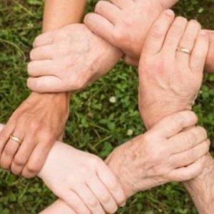 Gruppenlogo von Planet SOL. Wir bauen eine neue Welt. Sozial. Oekologisch. Lokal. powered by Ubuntu